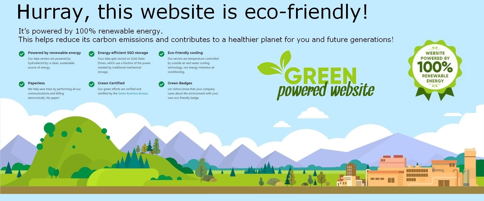 Ecoresponsible website